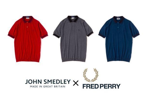 JOHN SMEDLEY × FRED PERRYの写真