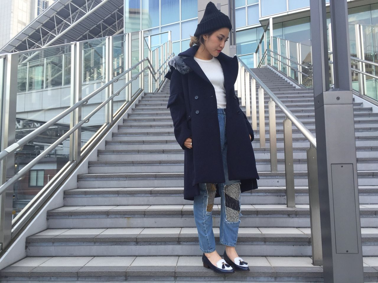 OUTER/¥85320 TOPS/¥10260 BOTTOM/¥35640 SHOES/¥18360