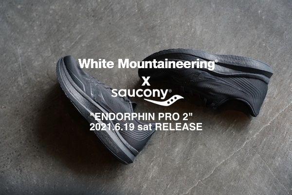 White Mountaineering x Saucony