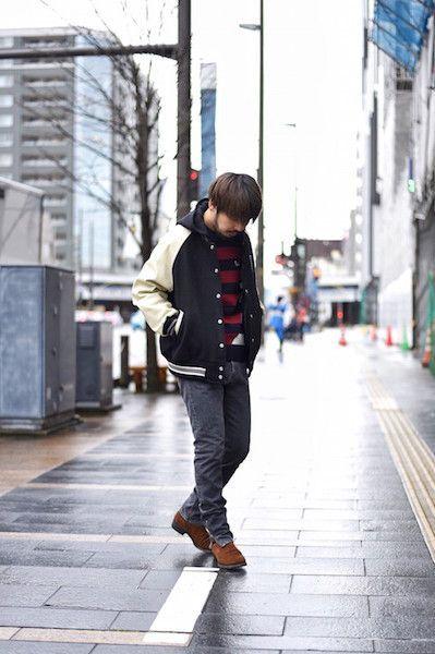 【 STUDIO SEVEN 】/ VARSITY JACKETの写真