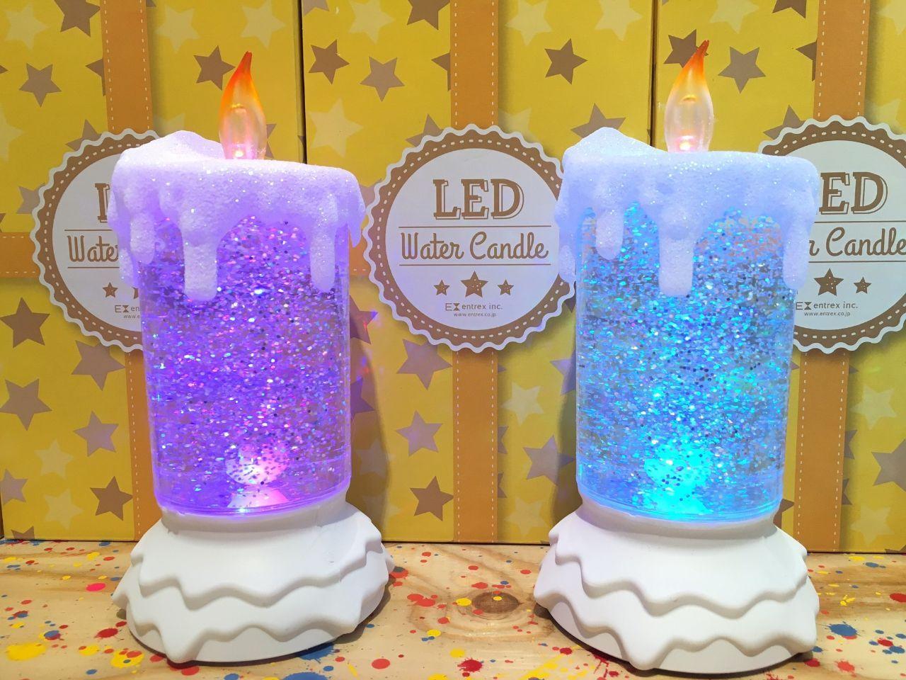「LEDグリッターキャンドル」の写真