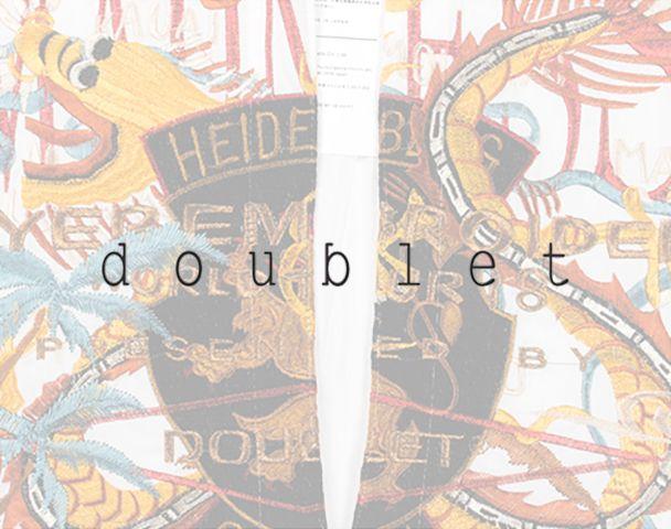 doublet / 新作アイテム入荷