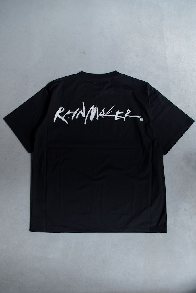 RAINMAKER for cote a cote / CALLIGRAPHY LOGO T-SHIRTの写真