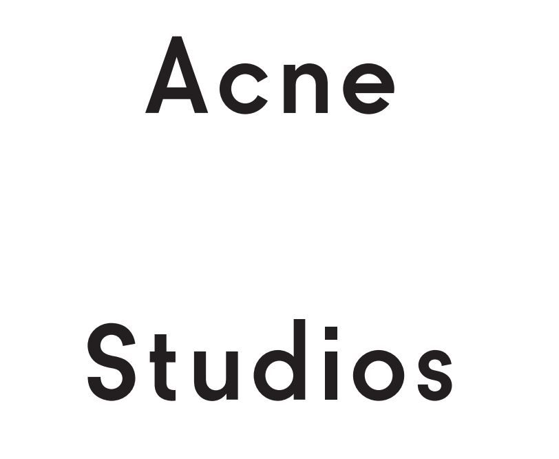 Acne Studios face collectionの写真