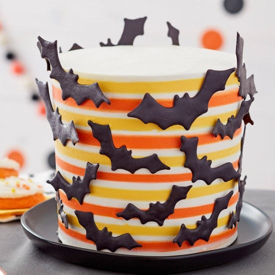 「アメリカで人気!ボーダーケーキを作ってみましょう!」の写真