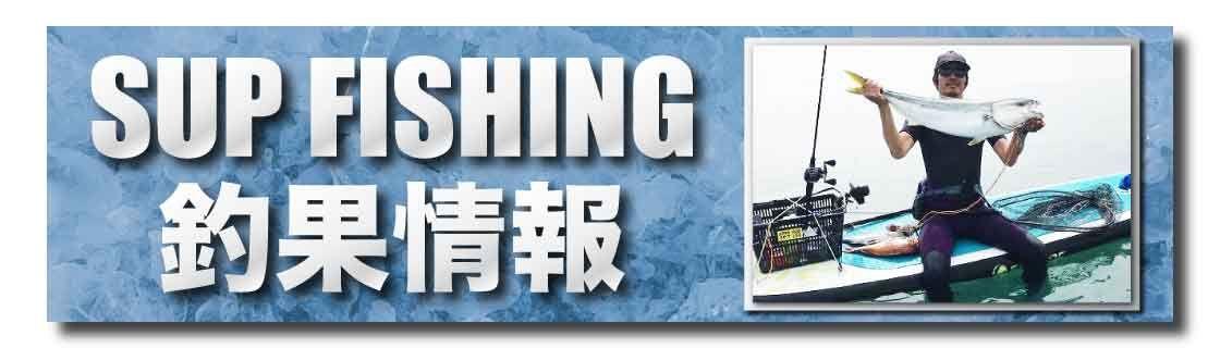 SUPフィッシング釣果情報バナー