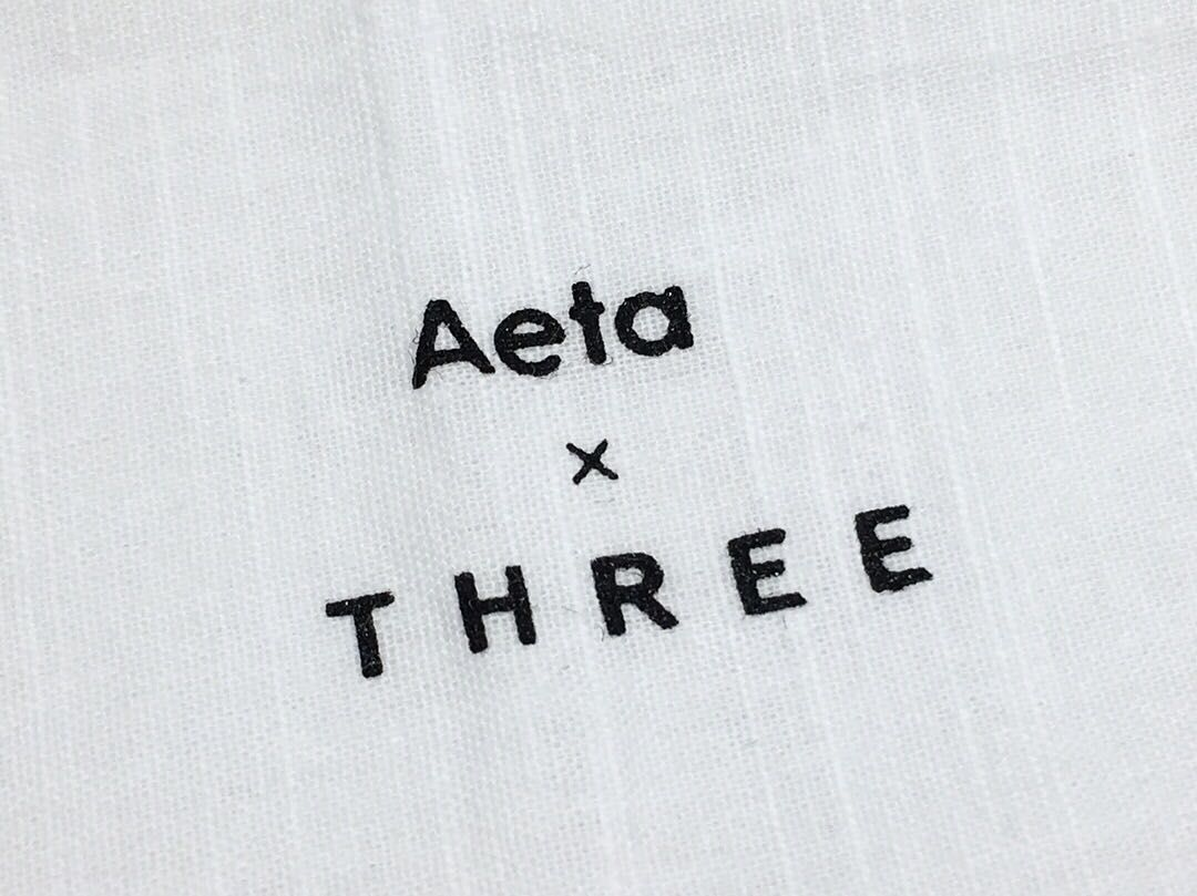 Aeta × THREEの写真