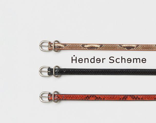 Hender Scheme  /  20SS COLLECTION !