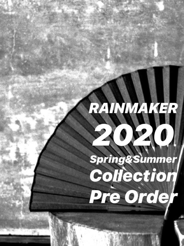 RAINMAKER 2020 Spring / Summer Collection Pre Orderの写真
