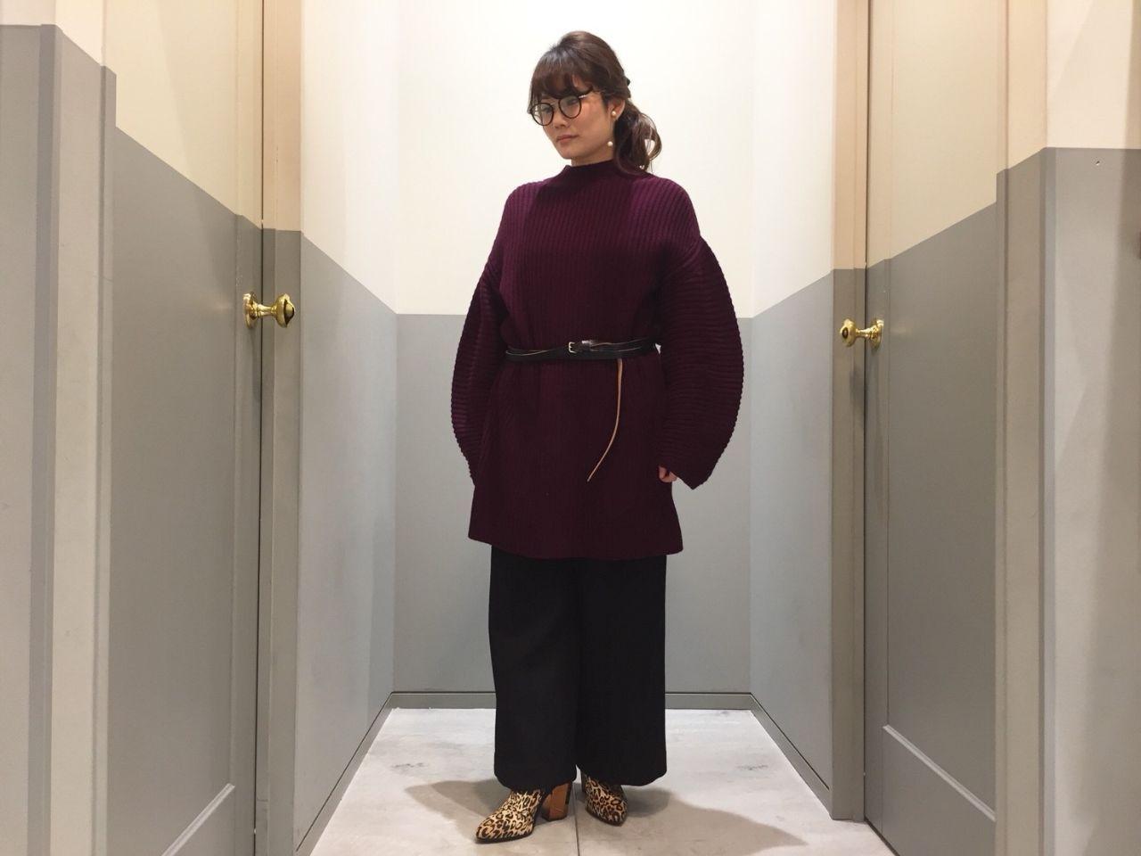 Volume sleeve knitの写真