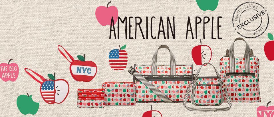 レスポートサック American Apple