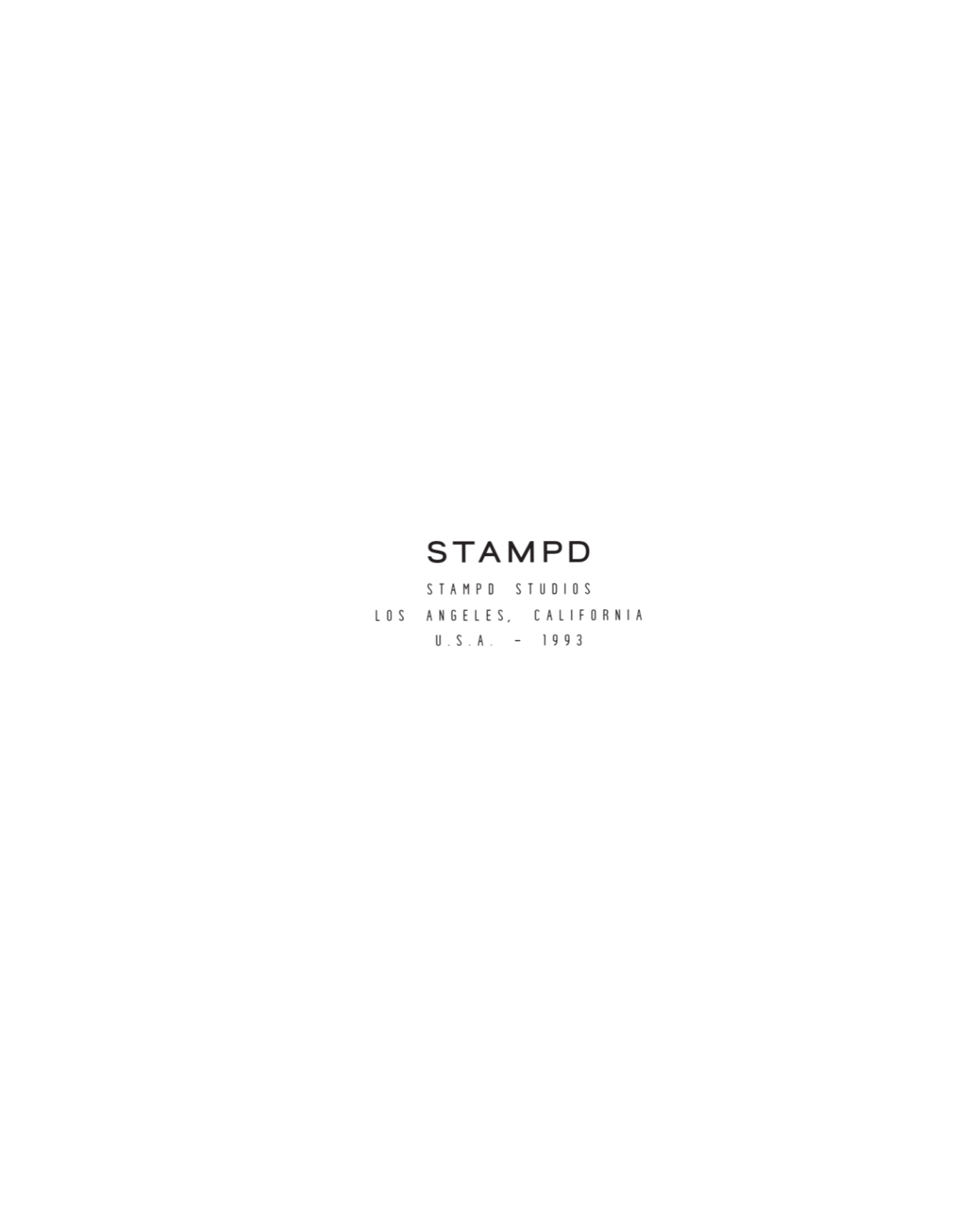 STAMPD 2019 Autumn & Winter Collection - Pre Orderのお知らせの写真