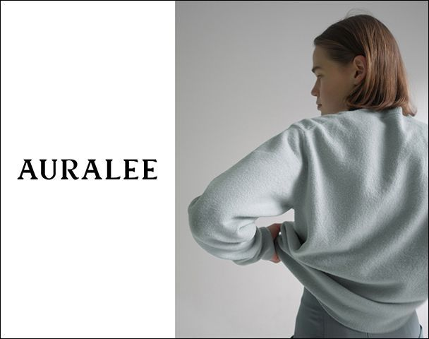 AURALEE-Womens /  新作アイテム入荷