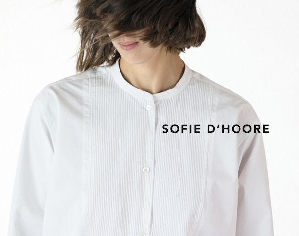 SOFIE D'HOORE  / 2018.Autumn&Winter Collection Start