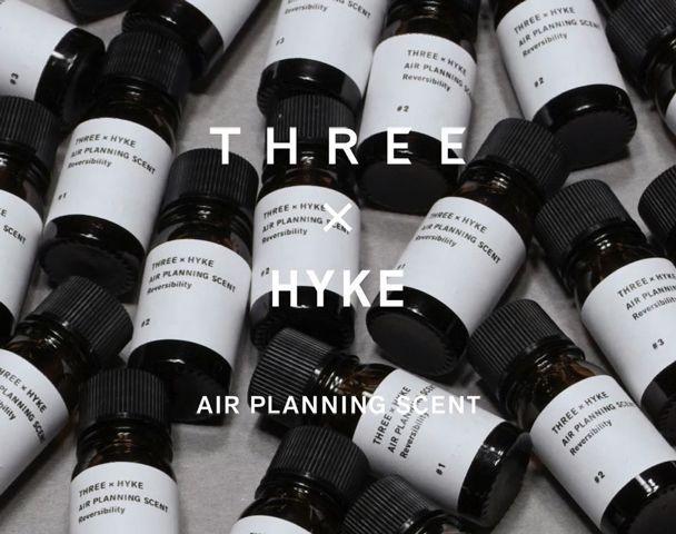 THREE × HYKE AIR PLANNING SCENT REVERSIBILITYの写真