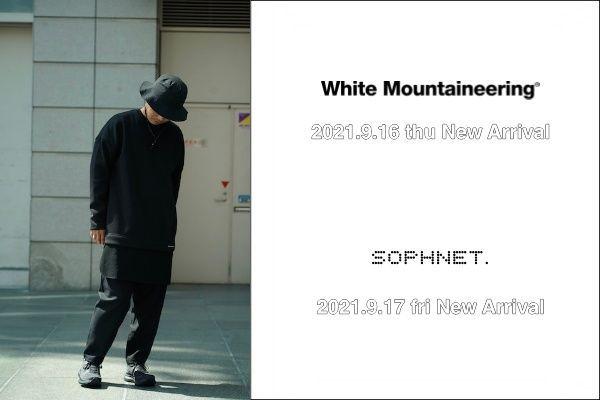 White Mountaineering / SOPHNET.  New Arrivalの写真