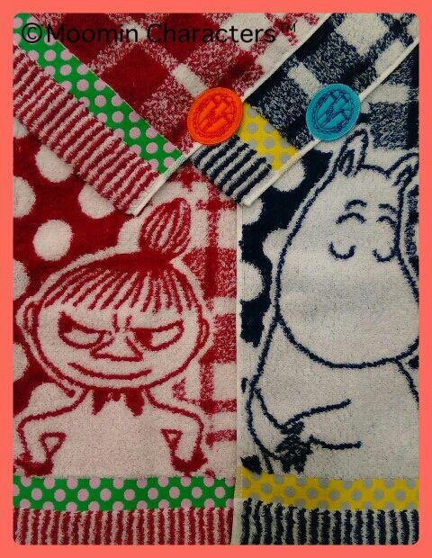 タオル美術館 ムーミン 刺繍名入れ