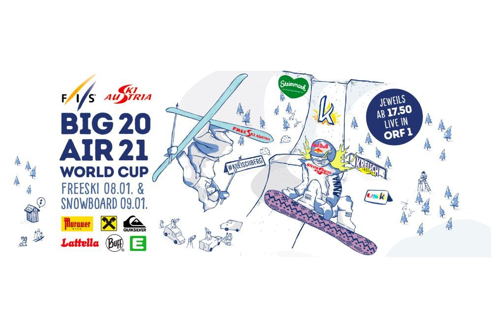 FIS SNOWBOARD WORLD CUP BIG AIR KREISCHBERG開幕