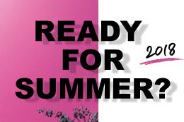 <準備はOK?><br/>暑い季節を気持ちよく<br/>夏のおすすめアイテム<br/>>>>>