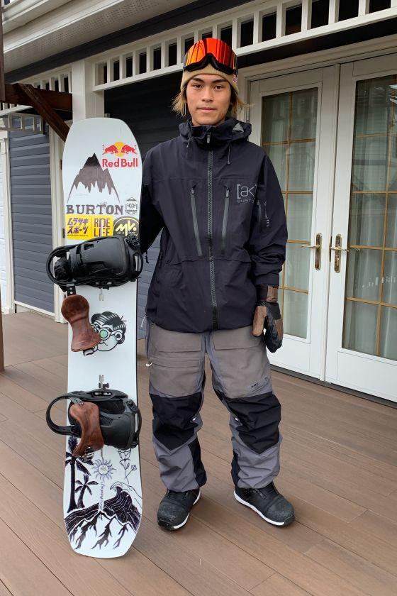 大塚 健/スノーボード・ウェアスタイリング
