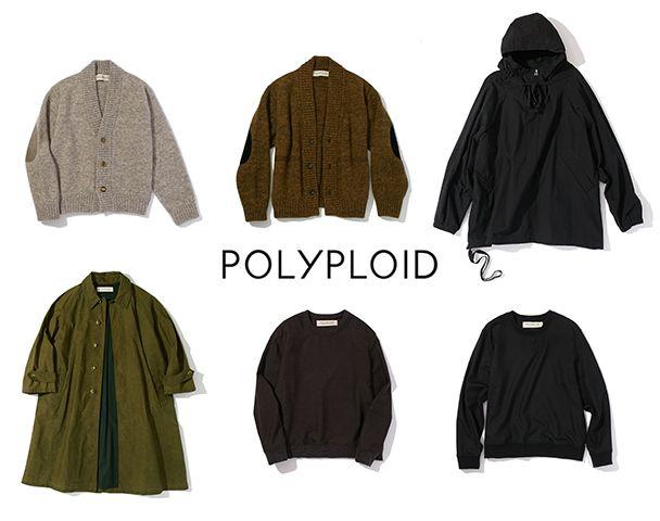 POLYPLOID / 新作アイテム入荷