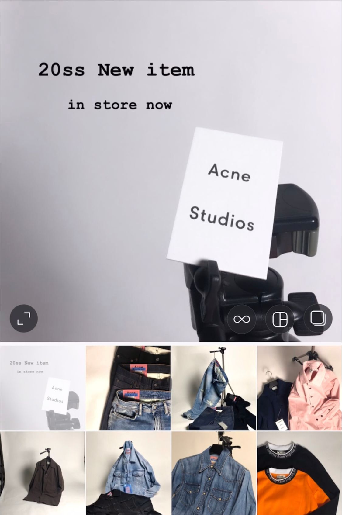 Acne Studios - Men's - New itemの写真