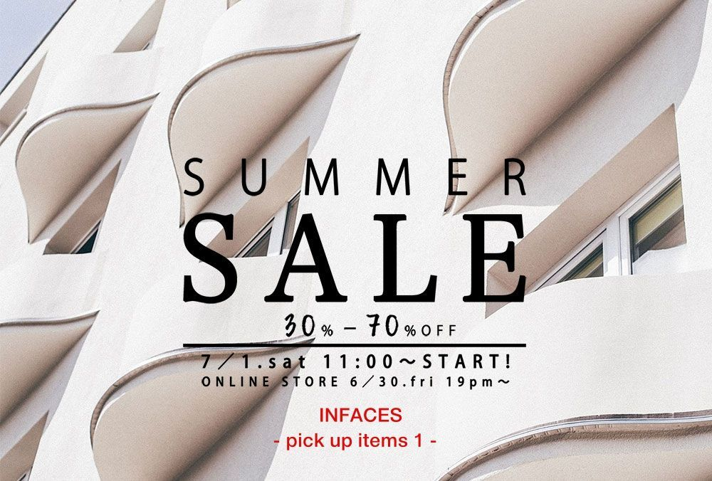 SUMMER SALE - pick up items 1 -の写真