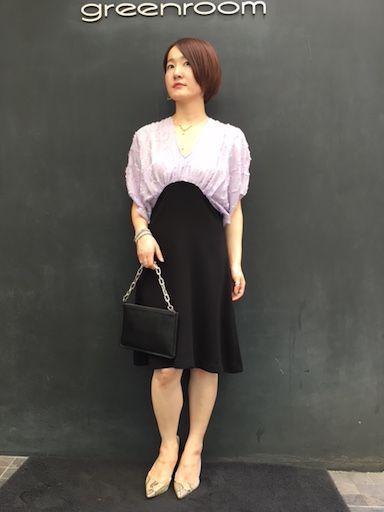 bycolor dressの写真
