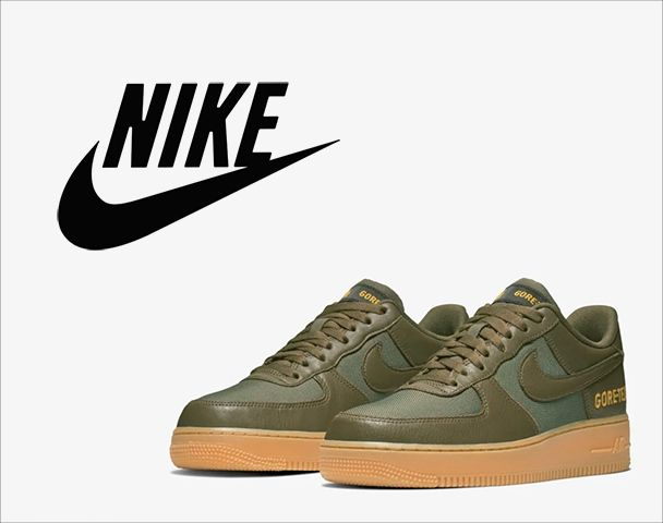 """NIKE / 新作アイテム入荷 """"エア フォース 1 LOW GORE-TEX OLIVE/SEQUOIA""""and moreの写真"""
