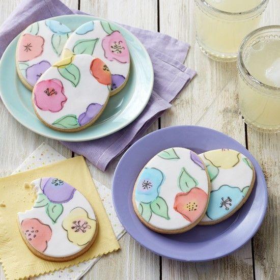 「ブラシペイントでクッキーデコレーション♪」の写真
