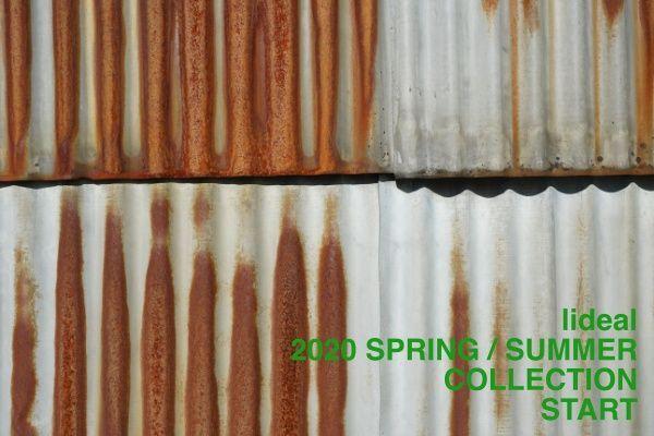 lideal 2020 SPRING / SUMMER COLLECTION STARTの写真