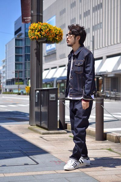 AMI DENIM SET UP : Stylingの写真