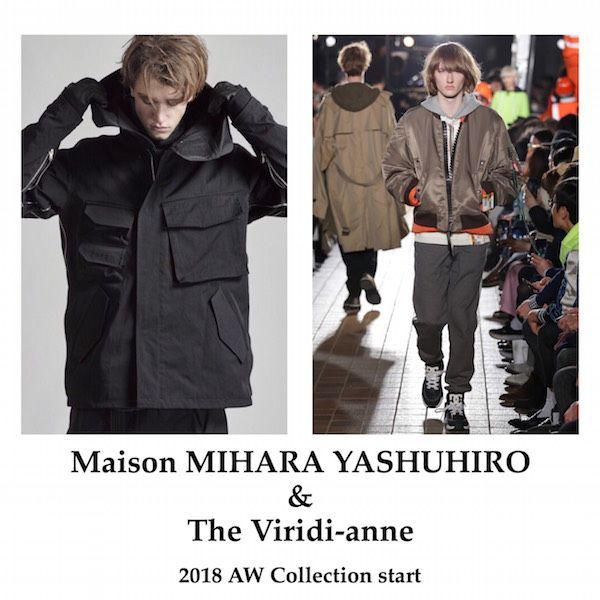 【 Maison MIHARA YASHUHIRO 】&【 The Viridi-anne 】 start!の写真