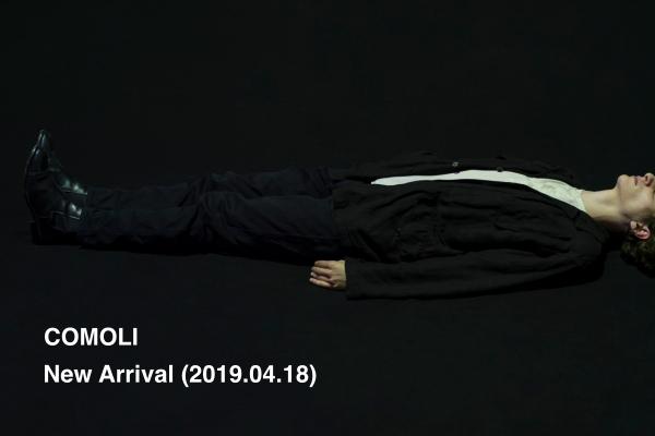COMOLI New Arrival (2019.4.18)の写真