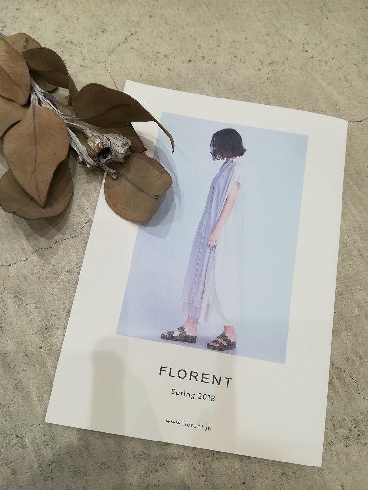 new arrival...FLORENTの写真