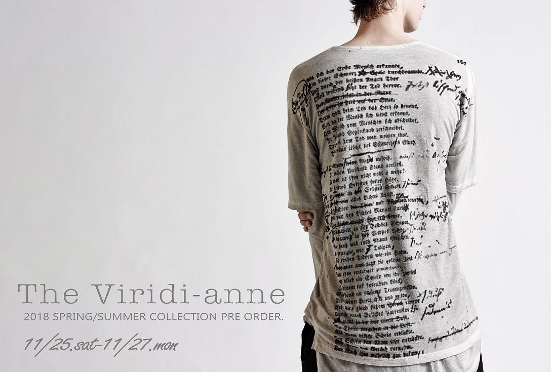 The Viridi-anne 18 SS 受注会の写真