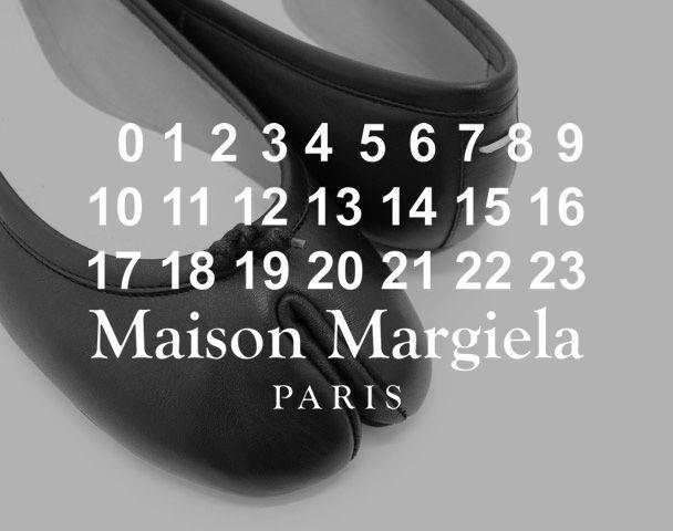 Maison Margiela / Tabi ballerina Black 入荷の写真