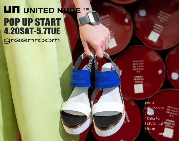 UNITED NUDE POP UP おしらせの日の写真