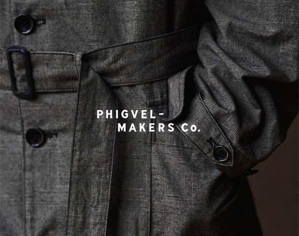 "PHIGVEL  / 新作アイテム入荷 ""DUSTER OVER COAT""andmoreの写真"