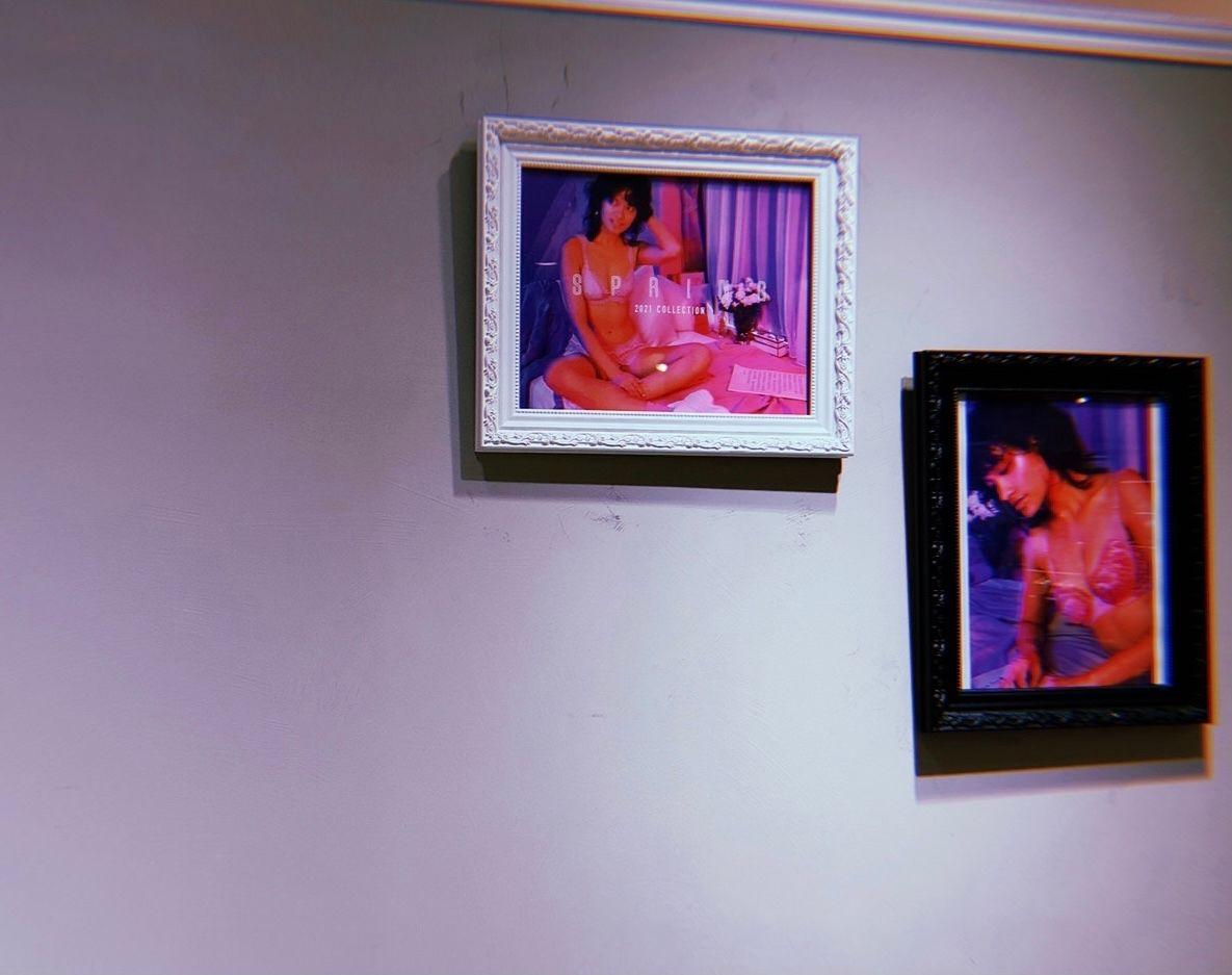 シックでちょっと大人な新作シアーライトブラ【ラシック福岡天神店】の写真