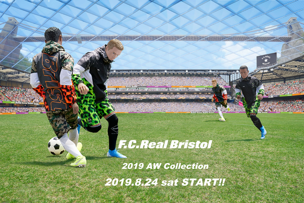 F.C. Real Bristol  2019-20 A/W COLLECTIONの写真