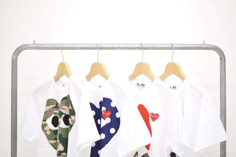 【 PLAY COMME des GARCONS 】New model releaseの写真