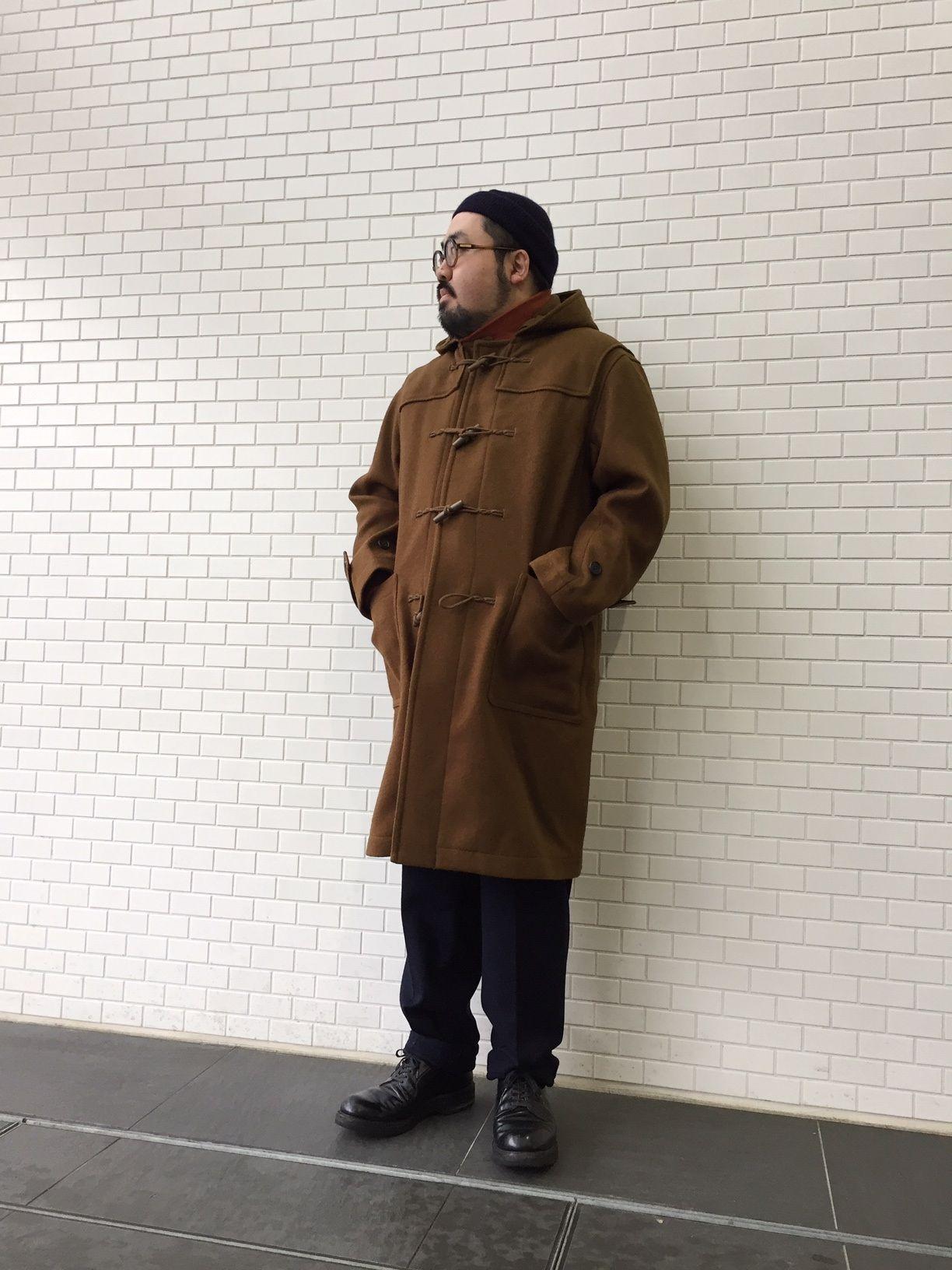 トグルボタンのコートの写真