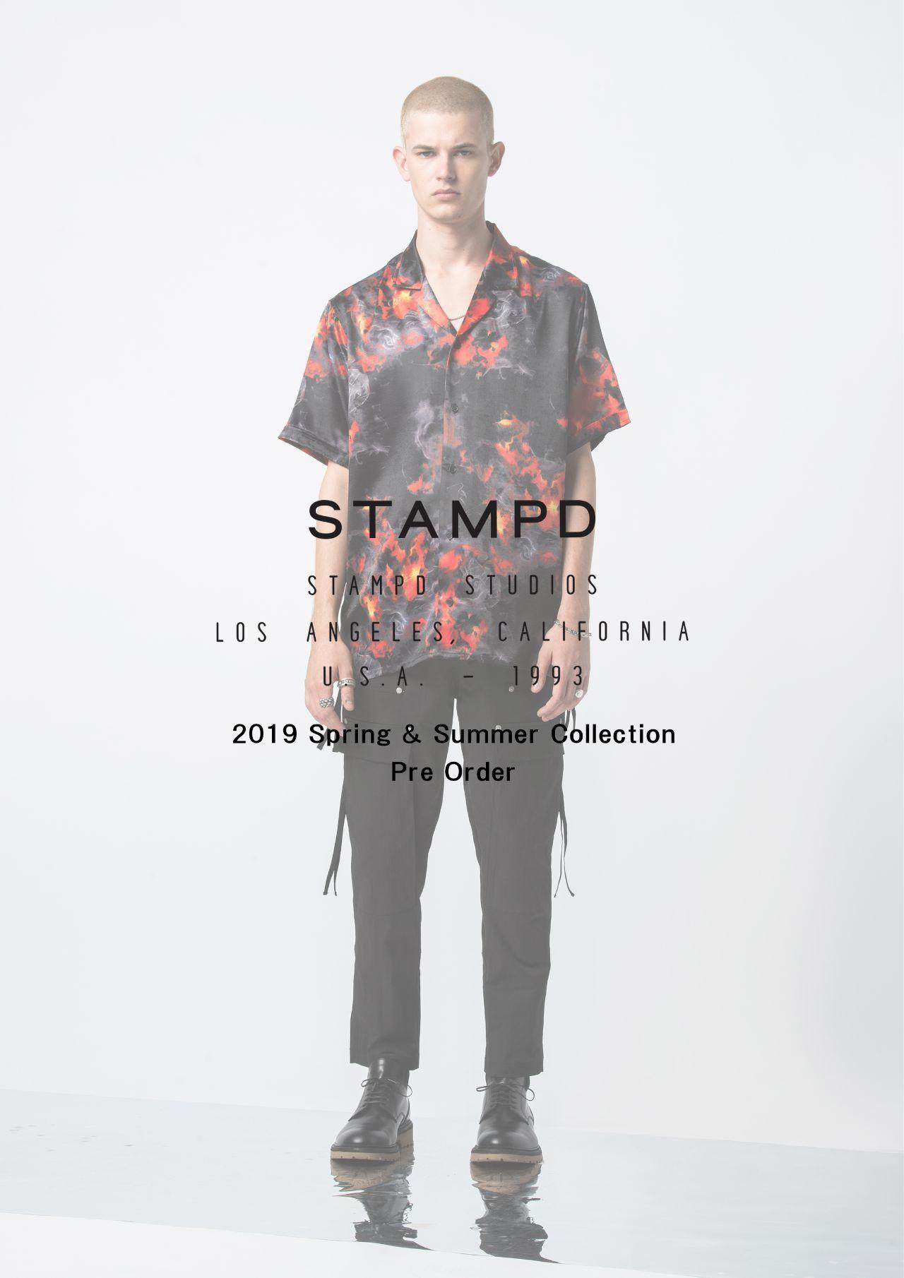 STAMPD 2019Spring & Summer Collection Pre Order会のお知らせの写真