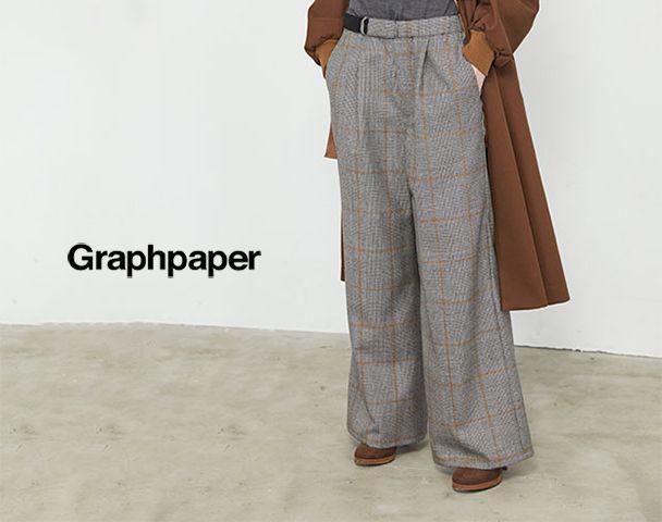 Graphpaper / 新作アイテム入荷