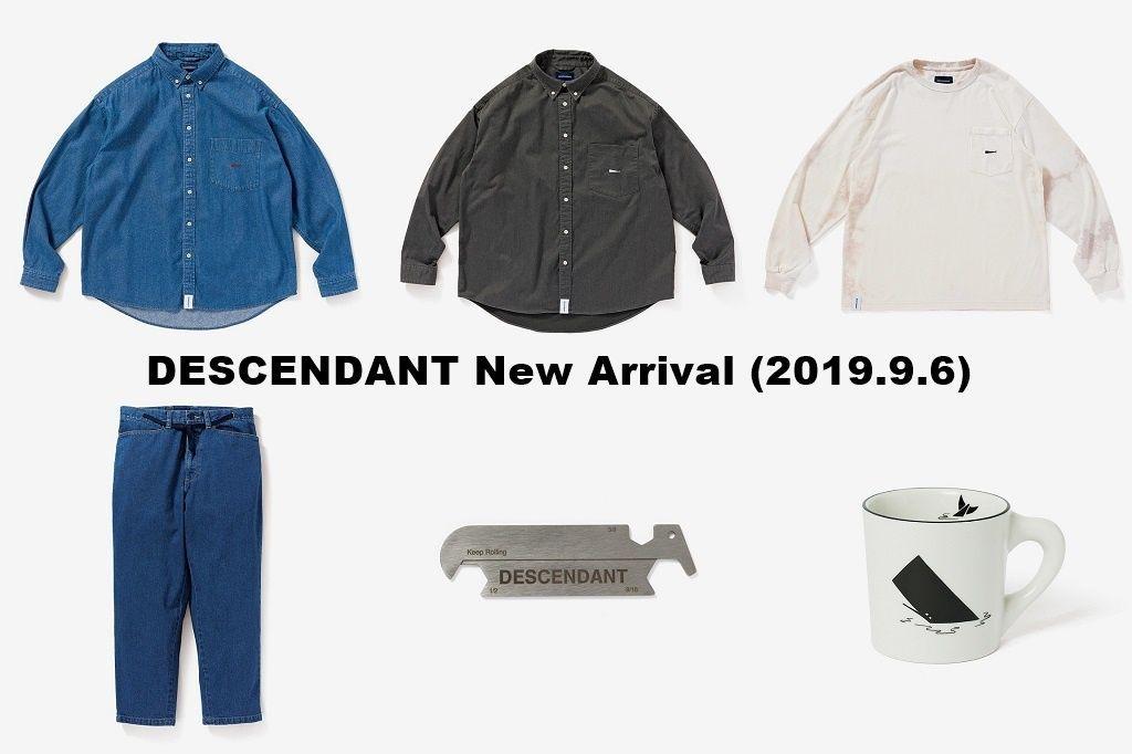 DESCENDANT New Arrival (2019.9.6)の写真
