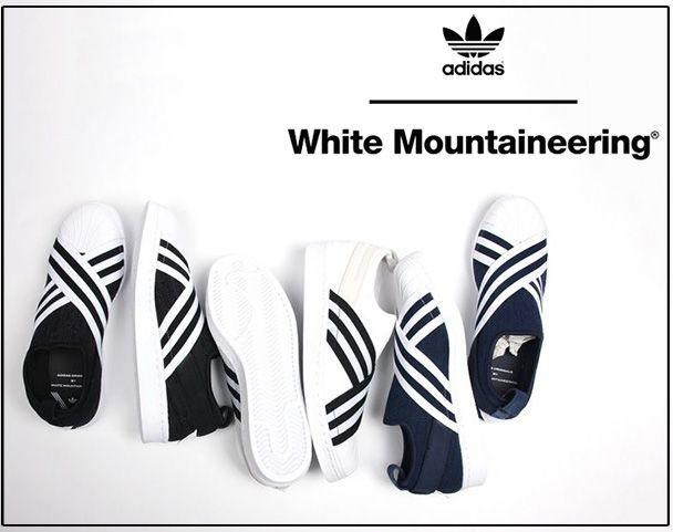 WM x adidas Originals [SUPERSTAR SLIP ON]の写真
