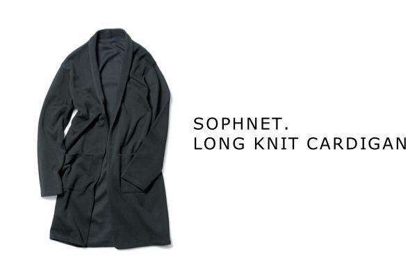 SOPHNET.   LONG KNIT CARDIGANの写真