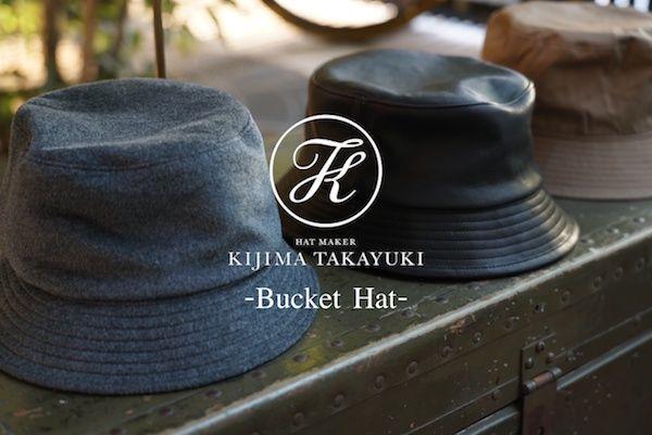 """KIJIMA TAKAYUKI """"Bucket Hat""""の写真"""