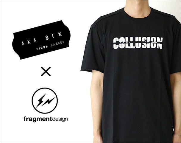 AKA SIX ×fragment design CRIMINAL COLLUSION COLLECTION / コラボレーションアイテムアイテム入荷